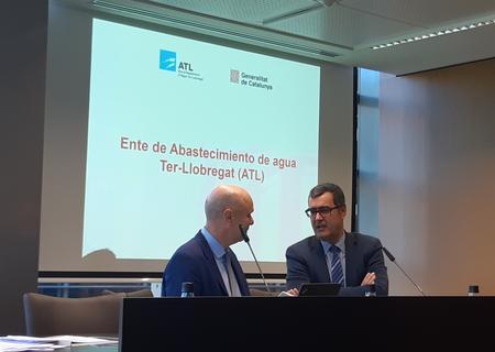 El Director d'ATL, Josep Andreu Clariana