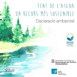Declaració ambiental 2018 cover