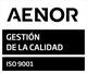 Segell AENOR ISO 9001 2021