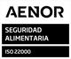 Segell UNE-EN ISO 22000